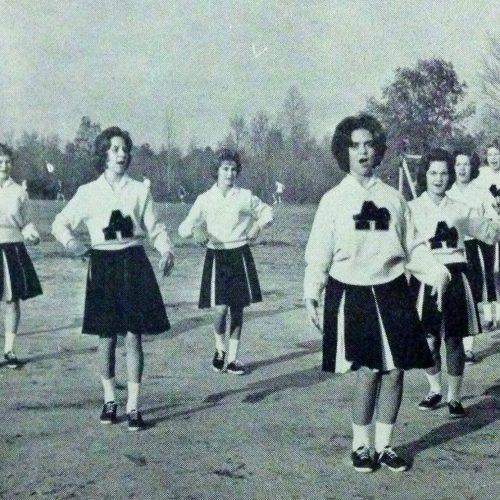 Augusta Prep Cheerleaders