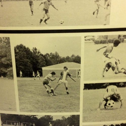 Augusta Prep Through the yearbook soccer