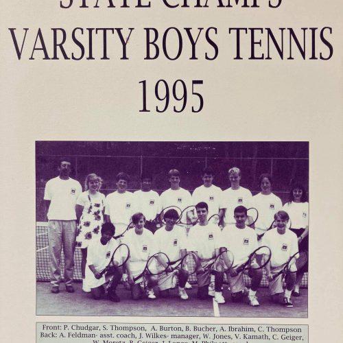 Augusta prep throug the years boys tennis champs